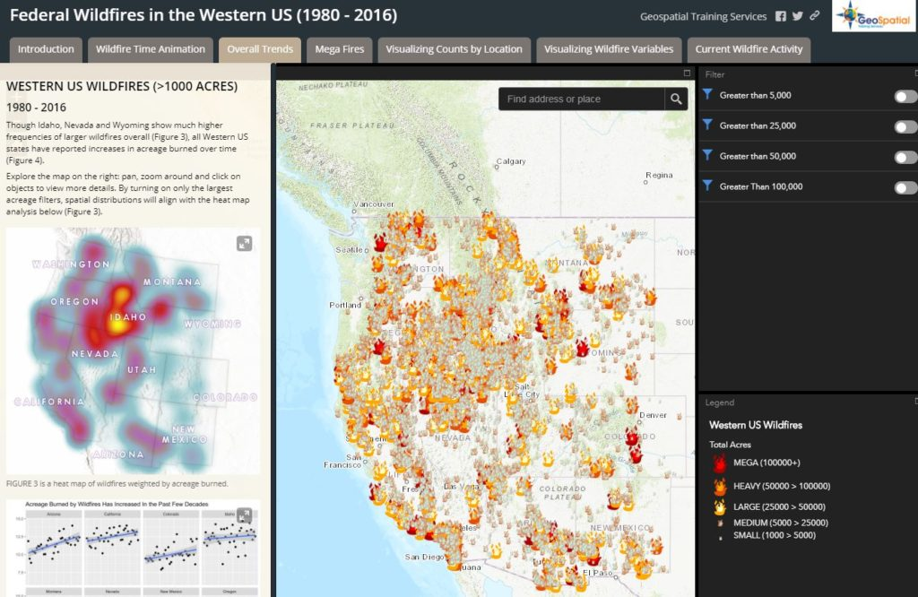 Arcgis Us Wildfire Activity Map More Interactive Maps for Tracking Wildfires and Saving Lives