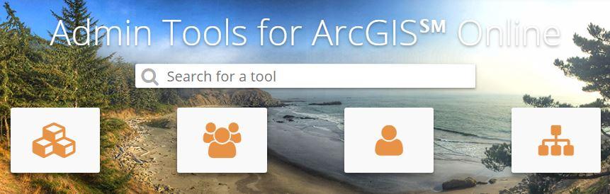 Admin Tool Categories