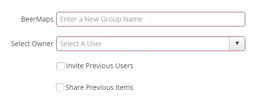 A screenshot showing the user interface for copying a Group with Admin Tools for ArcGIS.